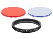 Colour Filter LF-N Set (Package includes red filter LF-N and blue filter LF-N)